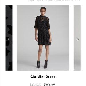 rag and bone gia mini dress